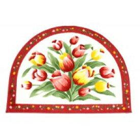 玄関マット おしゃれ 室内 北欧 ラグ カーペット ラグマット 絨毯 厚手 安い 洗える 屋内 小さい 小さめ 花柄 50×70 アンティーク 滑り止め