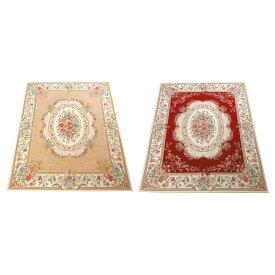 ラグ カーペット おしゃれ ラグマット 絨毯 ペルシャ ダイニングラグ マット じゅうたん 厚手 極厚 北欧 安い ゴブラン織り 調 アンティーク 200×250 3畳