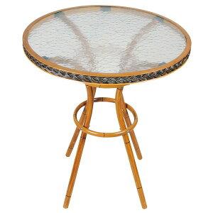 ガーデンテーブル おしゃれ 屋外 カフェ テラス ガーデン 庭 ベランダ バルコニー アウトドア 北欧 単品 カフェテーブル 2人用 二人用 コンパクト 小さめ 円形 丸型 丸テーブル ラウンド ミニ