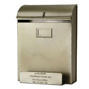 ポスト 郵便ポスト 郵便受け おしゃれ 屋外 玄関 壁掛け 壁付け A4 メール便 回覧板 小型 大容量 薄型 シンプル シルバー レトロ 安い 人気 新聞受け