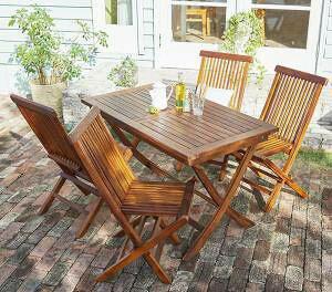 ガーデンテーブル + ガーデンチェア 椅子 セット 屋外 カフェ テラス ガーデン 庭 ベランダ バルコニー アジアン( 5点(テーブル+チェア4脚)チェア肘無幅120 )