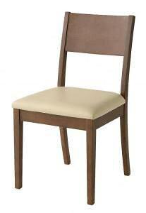 ダイニングチェア 椅子 おしゃれ 北欧 安い アンティーク 木製 シンプル ( 食卓椅子 1脚 ) 座面高45 レザー 合皮 完成品 背もたれ シートクッション ハイバック カントリー フレンチ ヨーロピ