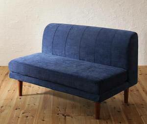 ソファー 2人掛け 2人用 ダイニングベンチ 食事 ダイニングチェア 椅子 おしゃれ 安い 120cm 高さ調整 ボックス ファミレス 脚 ルンバ 布張り 北欧 モダン デザイナーズ 高級 ミッドセンチュリ