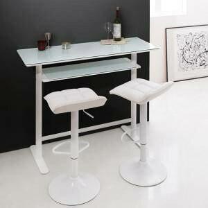 ダイニングテーブルセット 2人用 椅子 一人暮らし コンパクト 小さめ ワンルーム おしゃれ 安い 北欧 食卓 3点 ( 机+チェア2脚 ) カウンターテーブル 幅120 デザイナーズ クール スタイリッシュ