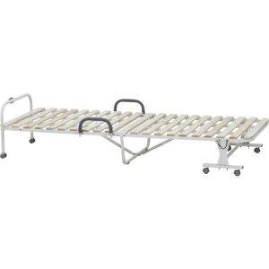 ベッド シングル 折りたたみベッド 簡易ベッド オフィス 折り畳み 収納 すのこベッド 布団用 折りたたみ 直置き 通気性 結露 除湿 床置き カビ 布団干し パイプベッド 安い 手すり キャスタ