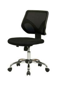 オフィスチェア 事務椅子 デスクチェア キャスター付き椅子 キャスター 椅子 チェア ブラック 黒 肘なし おしゃれ 安い パソコンチェア
