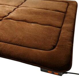 ラグ カーペット じゅうたん ラグマット 絨毯 安い ホットカーペット カバー 厚手 ホットカーペットセット 2畳 (184×184) 電気カーペット マット