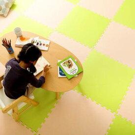かわいい 可愛い クッションフロア マット 64枚 60cm 子供 子供部屋 赤ちゃん キッズ おしゃれ あったか ふわふわ ふかふか コルクカーペット コルクマット ジョイントマット タイルカーペット フローリングカーペット フロアマット プレイマット パズルマット クッション