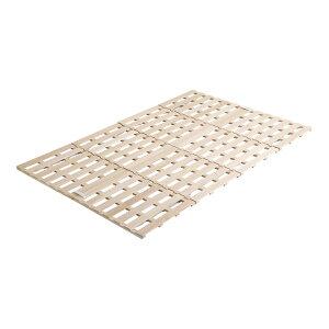 ベッド セミダブル すのこマット すのこベッド ローベッド ロータイプ 低い フロアベッド 低床 北欧 布団用 折りたたみ 和室 床板 のみ 直置き 通気性 結露 除湿 床置き カビ 布団干し 宮無し