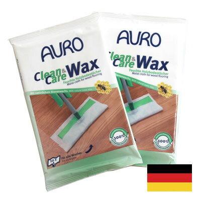 厚手アウロ ワックスシート auro 20枚 フローリングワックス AURO Clean & Care WAX アウロ クリーンアンドケアワックス