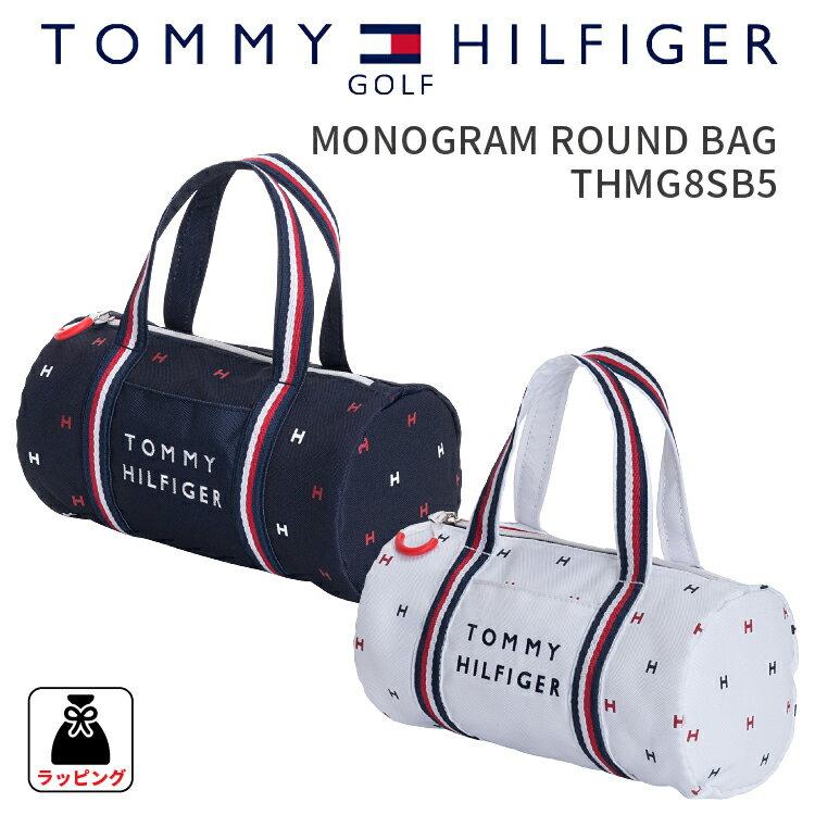 MONOGRAM ROUND BAGトミーヒルフィガー ゴルフモノグラムラウンドバッグ THMG8SB5TOMMY HILFIGER GOLF ラウンドバック 鞄 カバンギフト プレゼント