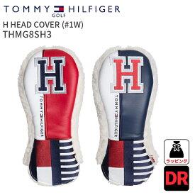 ドライバーヘッドカバー トミーヒルフィガーゴルフH HEAD COVER(#1W)TOMMY HILFIGER GOLF THMG8SH3 #1W 460cc対応2018年春夏モデルドライバー用 1W DR Driverプレゼント ギフト 単品