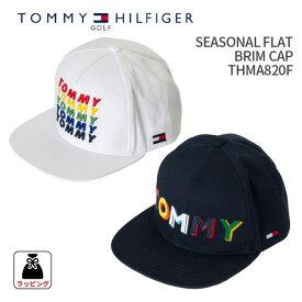 ad39a89c2a2 トミーヒルフィガーゴルフ SEASONAL FLAT BRIM CAP THMB8202018年秋冬モデル 新作TOMMY HILFIGER GOLF シーズナル