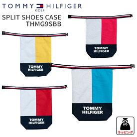 トミーヒルフィガーゴルフSPLIT SHOES CASETHMG9SBB スプリットシューズケース吊り下げベルト付き2019年春夏モデル NEWTOMMY HILFIGER GOLF 新作ゴルフ小物 ゴルフ用品 ギフト