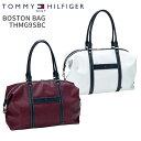 ■週末限定P11倍■トミーヒルフィガーゴルフBOSTON BAG THMG9SBC2019年春夏モデル 新作 ボストンバッグTOMMY HILFIGER GOLFボストン バッグ ホワイト ワインレッド