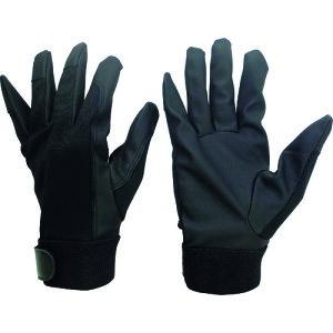 ミドリ安全 合成皮革手袋 薄手タイプ PUウイングローブC LLサイズ 1双 (PU-WINGLOVE-C-LL)