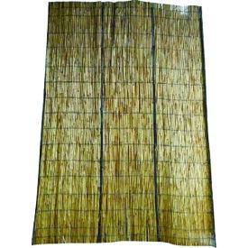 TRUSCO 高級たてず ブラウン(炭化葦) 10尺×6尺 (TTZ-BR-106)