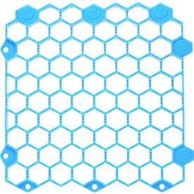TRUSCO 抗菌・防炎ジョイントスノコ 土足用 ブルー (TJDDS15-BL)