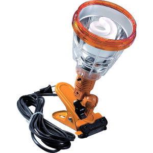 ハタヤ 軽便蛍光灯ランプ 単相100V 23W 電線5m 黄色(KF23-Y)