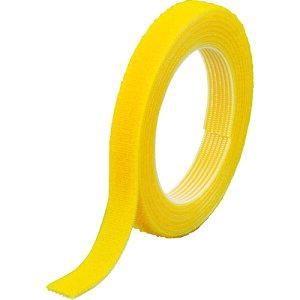 TRUSCO マジックバンド[[R下]]結束テープ両面幅 10mm長さ1.5m黄(MKT-1015-Y)