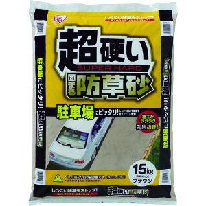 (代引き不可) IRIS 516060 超固まる防草砂15Kg(C15-BR)