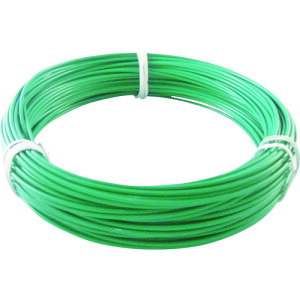 TRUSCO カラー針金 ビニール被覆タイプ 2.0mmX25m 緑(TCWM-20GN)