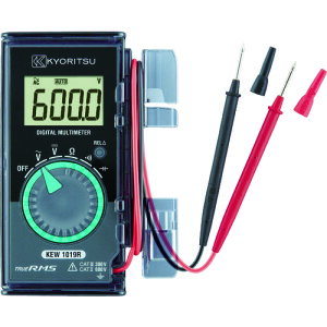 KYORITSU 1019R カード型デジタルマルチメータ(ハードケース) (KEW1019R)