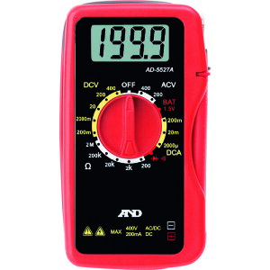 A&D デジタルマルチメーター AD5527A (AD5527A)
