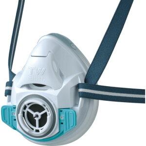 シゲマツ 防じん・防毒マスク TW01SC ホワイト M (TW01SC-WH-M)