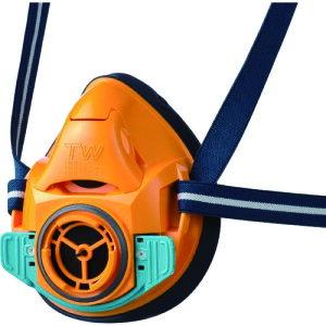 シゲマツ 防じん・防毒マスク TW01SC オレンジ S (TW01SC-OR-S)