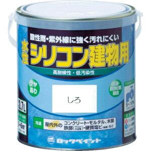 ロック 水性シリコン建物用 イエロー 1.6L(H11-1156 6S)