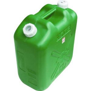ヒシエス 軽油缶 20Lスリム グリーン (KY-20S)