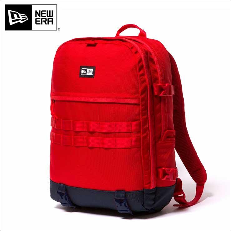 NEW ERA newera ニューエラ リュック バックパック スマートパック SMART PACK 1680D RED NVY バッグ カバン
