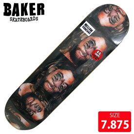BAKER ベイカー デッキ FIGGY FACECUTS DECK 7.875 BAD-289 skateboard スケートボード スケボー