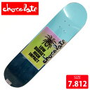 CHOCOLATE チョコレート デッキ SINGNS OF THE TIMES J.スー DECK 7.812 CHD-543 SKATEBOARD スケート...