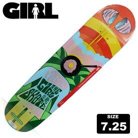GIRL DECK ガール スケートボード FILLMORE E.コストン デッキ 7.25 GLD-984 スケボー ジュニア用