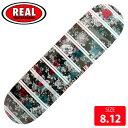 REAL リアル デッキ KYLE WALKER BLOOM EMB DECK 8.12 RAD-610 スケートボード SKATEBOARD
