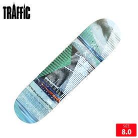 TRAFFIC トラフィック デッキ COAKLEY EASTHAM 8.0 TFD-023 スケートボード スケボー skateboard