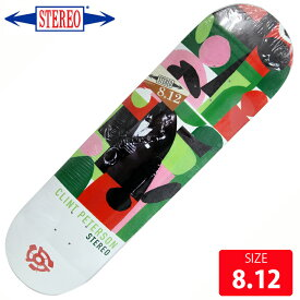 STEREO ステレオ デッキ Peterson HORNS by Charlie Coatney Hank DECK 8.12 SRD-032 スケートボード skateboard 【クエストン】