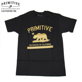 PRIMITIVE プリミティブ TシャツCULTIVATED TEE BLK スケボー ウェアー