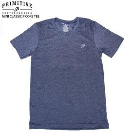 PRIMITIVE プリミティブ Tシャツ MINI CLASSIC P CORE TEE NVY スケボー ウェアー