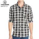 VOLCOMボルコムメンズシャツ[BARTLET]BLKトップスSHIRTSwoven2015モデルmen's