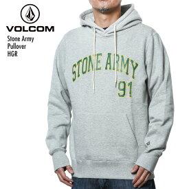 【在庫処分】VOLCOM/ボルコム パーカー メンズ プルオーバー Stone Army Pullover HGR トップス