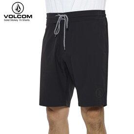 【在庫処分】VOLCOM ボルコム メンズ ウォークショーツ Solid Stoney 19 Shorts BLK A08118JA 【クエストン】