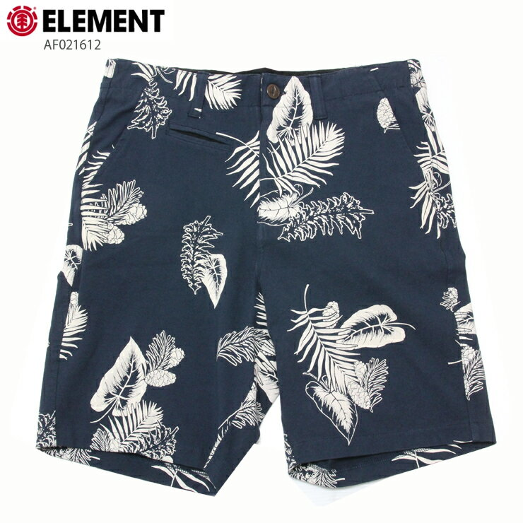 ELEMENT エレメント メンズ ハーフパンツ AF021612 NVY ウォークショーツ ストレッチ 短パン
