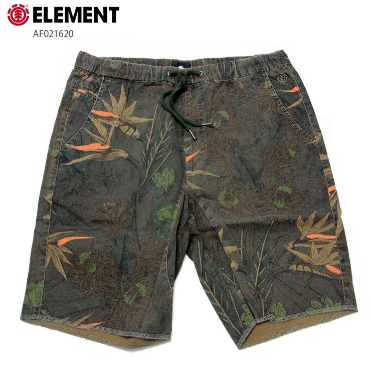 ELEMENT エレメント メンズ ハーフパンツ CONROY SHORT 20 AF021620 BLK ウォークショーツ 短パン