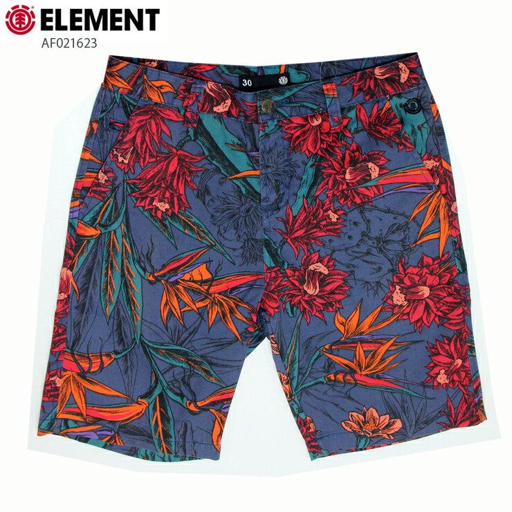 ELEMENT エレメント メンズ ハーフパンツ AF021623 NVY ウォークショーツ 短パン