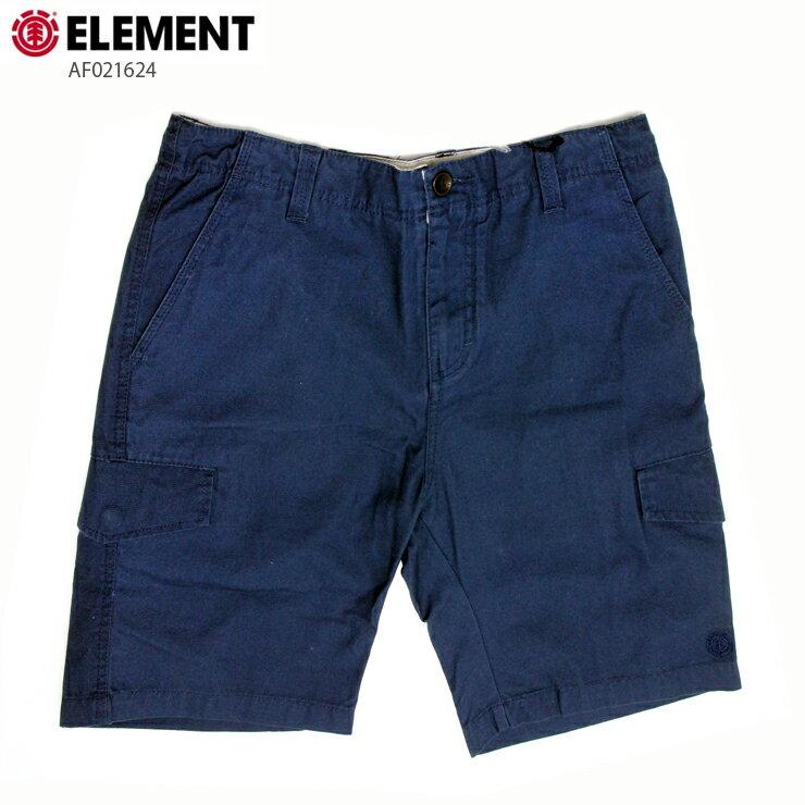 ELEMENT エレメント メンズ カーゴショーツ AF021624 DEN ウォークショーツ 短パン