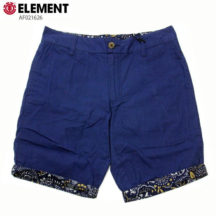 ELEMENT エレメント メンズ ショーツ AF021626 ROY ウォークショーツ 短パン