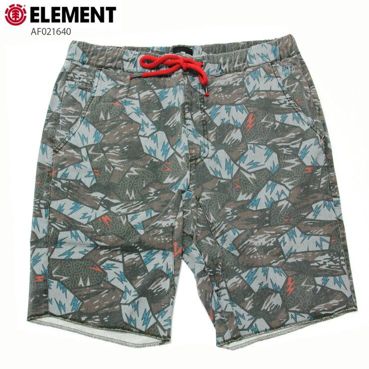 ELEMENT エレメント メンズ ショーツ AF021640 CAG ウォークショーツ 短パン